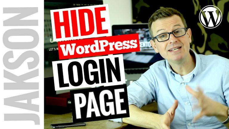 Hide the WordPress Login Page