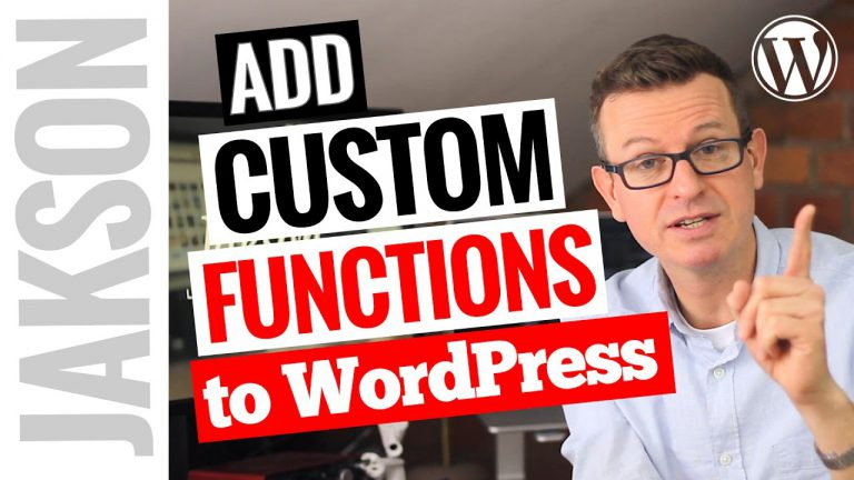 How to Add a Custom Function to Your WordPress Website