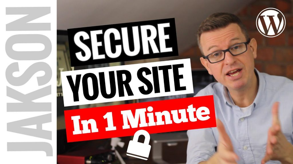 How to Secure your WordPress website in 1 minute