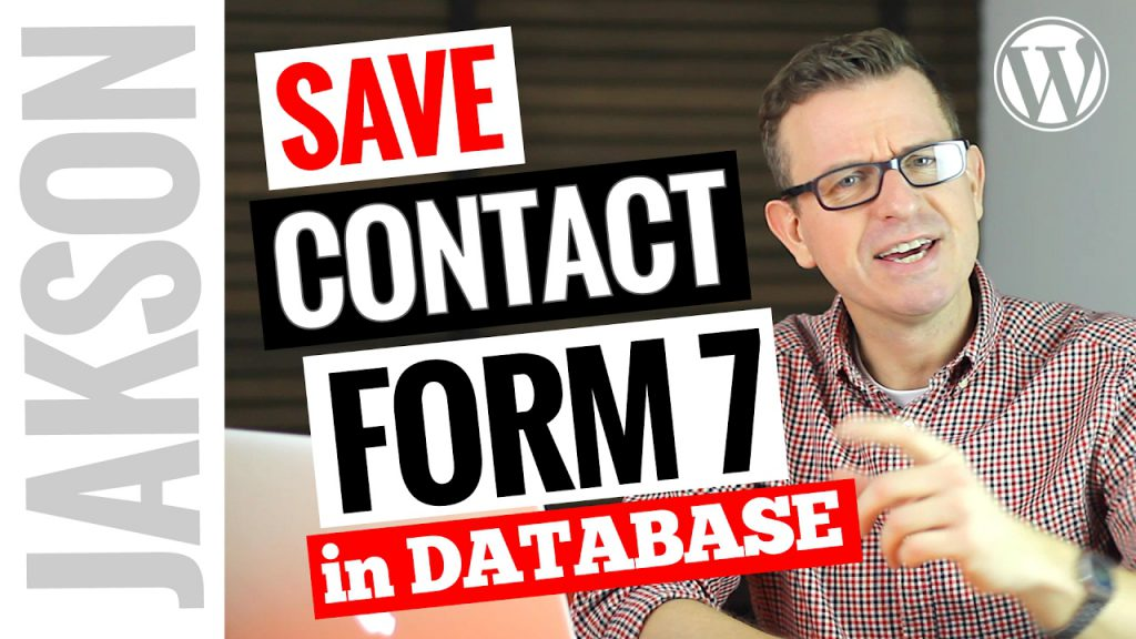 Save Contact Form 7 to the WordPress Database